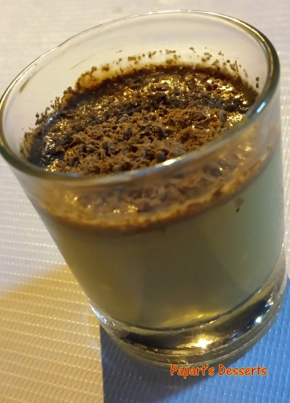Chocoffee Panna Cotta